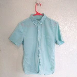 [ BONOBOS size xs/s short sleeve button down ]